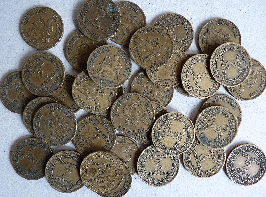 Frais de port pour la france 7 euros en colissimo for Chambre de commerce de france bon pour 2 francs